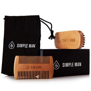 Picture of Beardsmith Set (Beard Brush Comb Set)